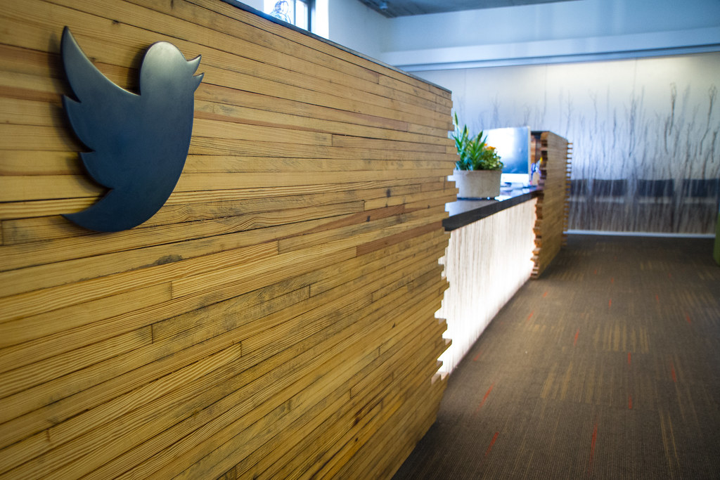 Great ... Twitter HQ: Reception Desk | By @Twitter Pictures Gallery