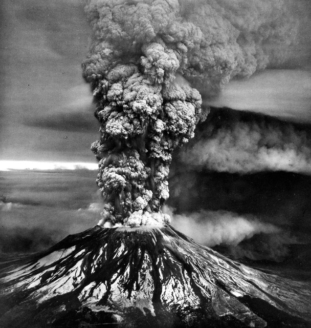 Mount St. Helens Eruption — 1980