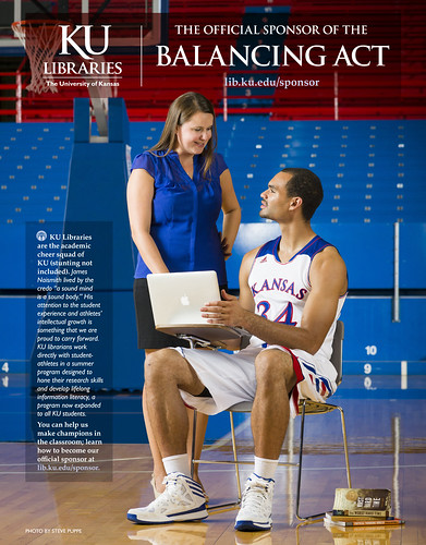 KU Libraries: the Official Sponsor of the Balancing Act | by KU Libraries