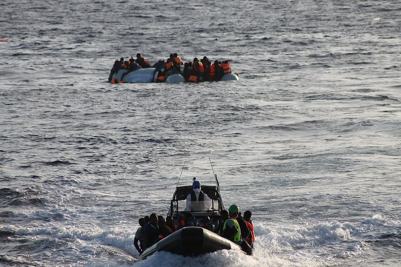 LÉ Samuel Beckett Recovers 5 Deceased Persons While Rescuing 118* Migrants During a Search & Rescue Operation 40 Nautical Miles North East of Tripoli