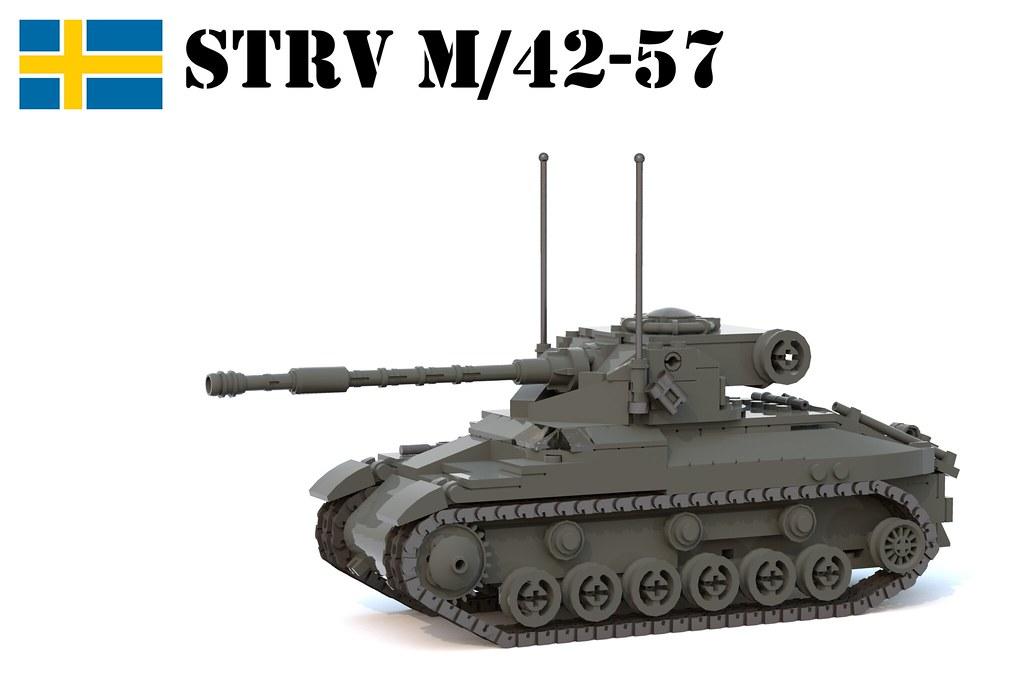 STRV M/42-57 ALT A.2.   The Stridsvagn M/42-57 Alt A.2. was …   Flickr