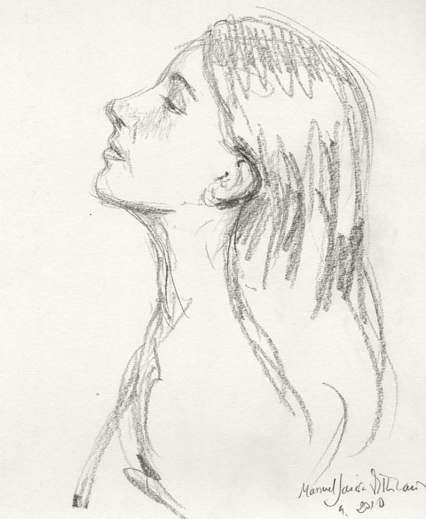 Apunte sobre figura femenina. Manuel García Villacañas #ar… | Flickr