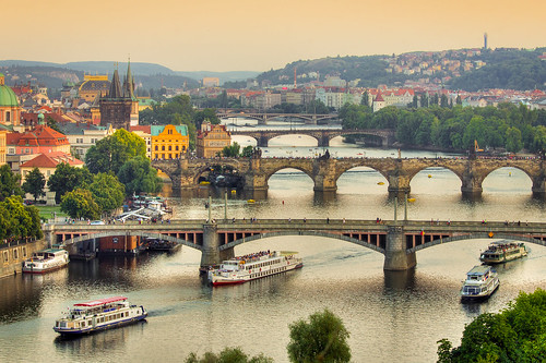 Stunning View of Prague from Letna Hill | by ajroder