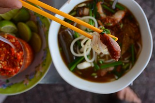 pork, noodles, sticks | by stickychopsticks