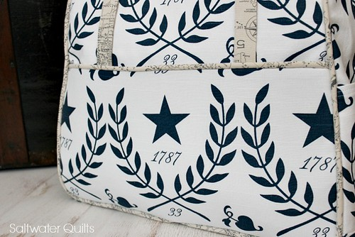 Star Weekender | by Saltwater Quilts