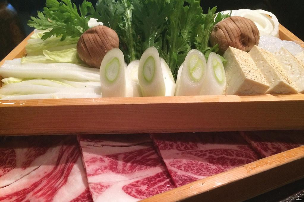 lavlilacs Japan Tokyo Asakusa Tatsumi-ya wagyu sukiyaki
