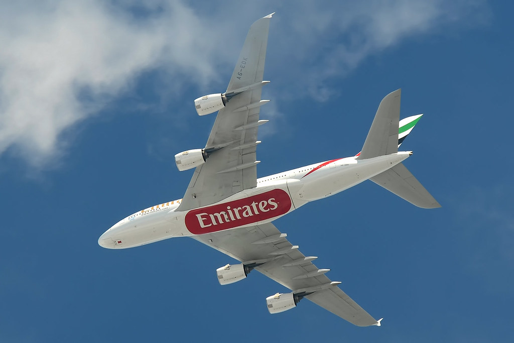 A6-EDK Airbus A380-861 Emirates Airlines