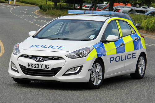 Greater Manchester Police Hyundai I30 Incident Response Ve