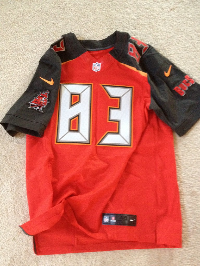 super popular bea04 96b21 2014 Tampa Bay Buccaneers Vincent Jackson Authentic Home J ...