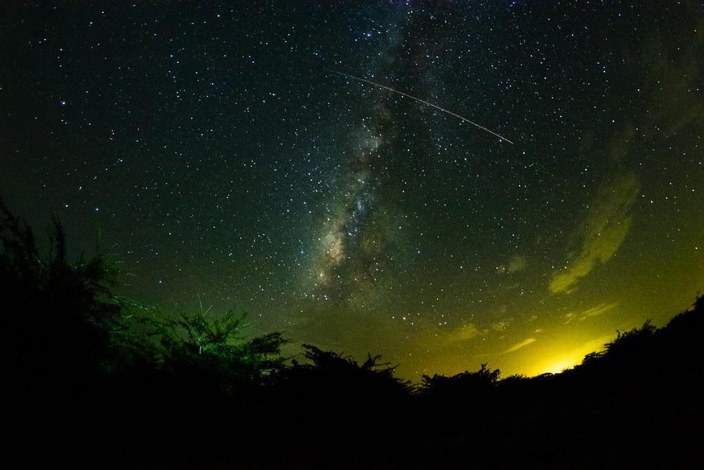 Vía Láctea Y Estrella Fugaz Fabriccio Díaz Flickr