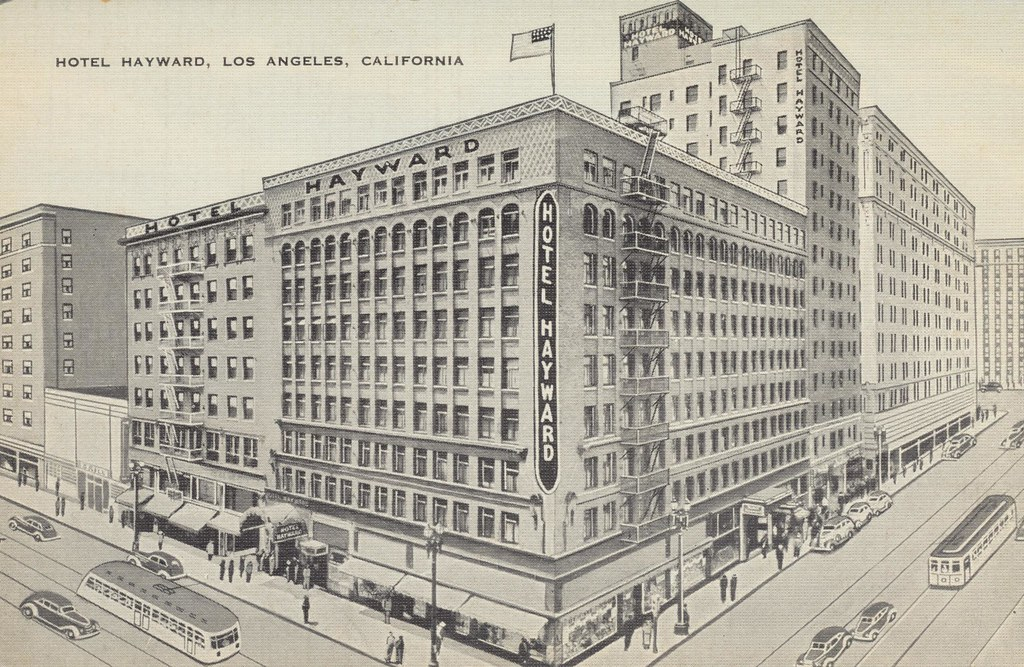 Hotel Hayward - Los Angeles, California