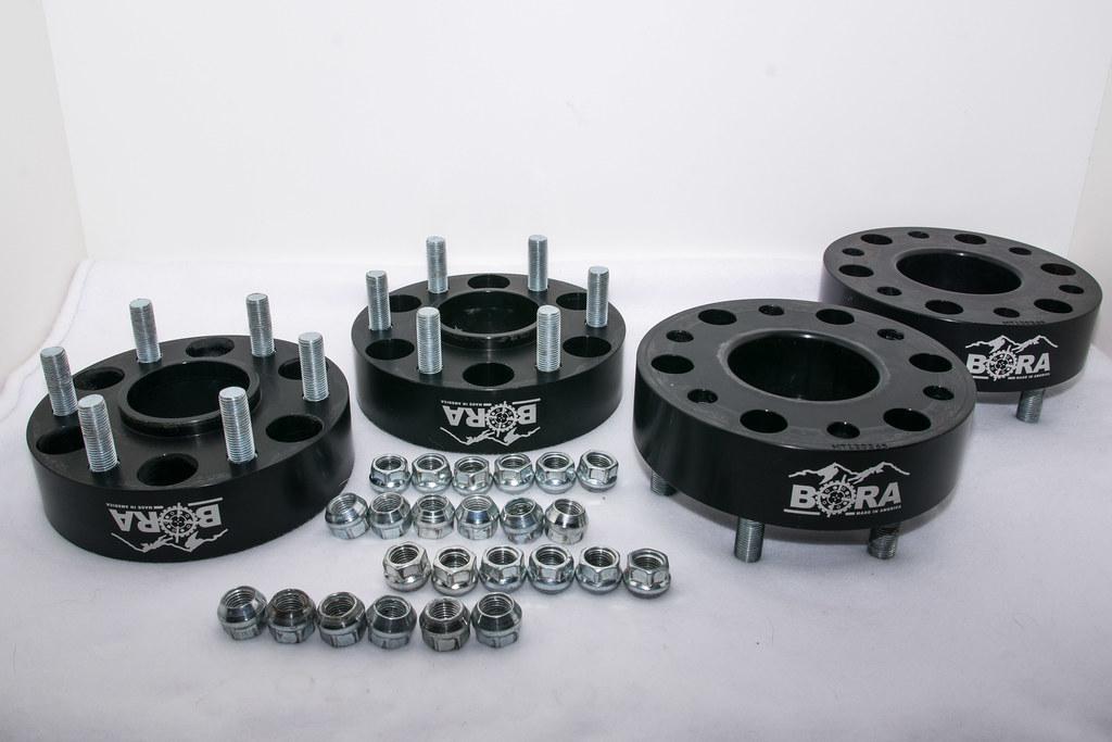 "4 To 5 Lug Adapters >> SilveradoSierra.com • BORA 1.75"" Wheel Spacers : Parts/Accessories For Sale or Trade"