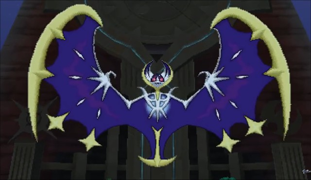 Pokemon Sun & Moon - Lunala