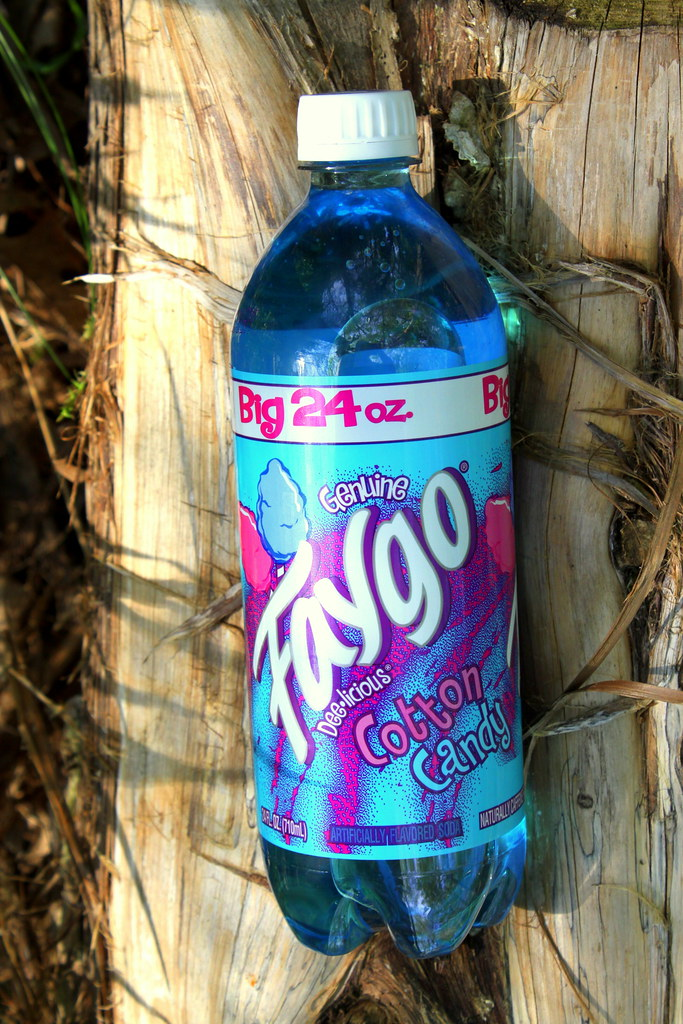 Faygo cotton candy soda