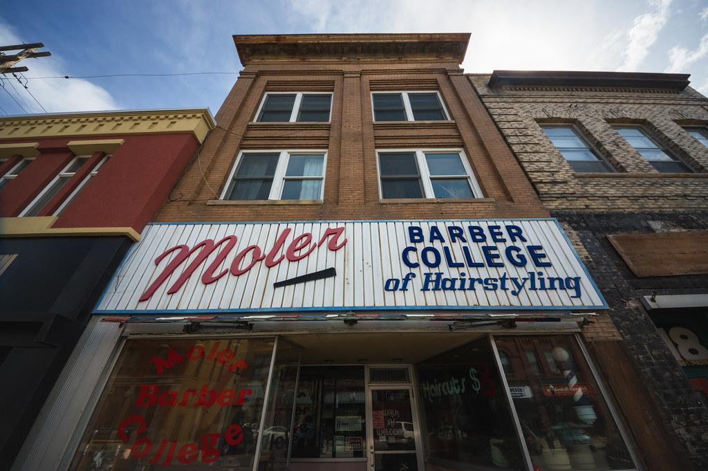 Moler Barber College | Fargo, North Dakota. | Bryan Scott | Flickr