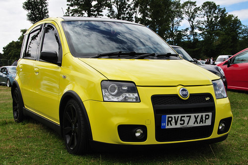 fiat panda 100hp fueled society car show nostell priory flickr. Black Bedroom Furniture Sets. Home Design Ideas