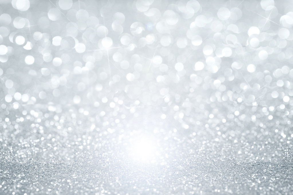 ... Abstract Silver Defocused Glitter Background With Copy Space | By LA  GRAPHIX