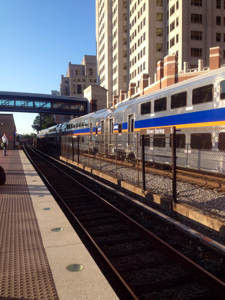 marc train's newest brunswick line cars! | today's commute, … | flickr