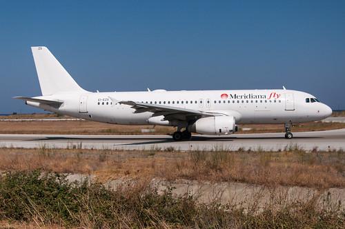 EI-EZS - Meridiana Fly - Airbus A320-200