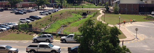 After image of Parkerson Mill Creek in front of the new Auburn University Wellness Kitchen | by Auburn University