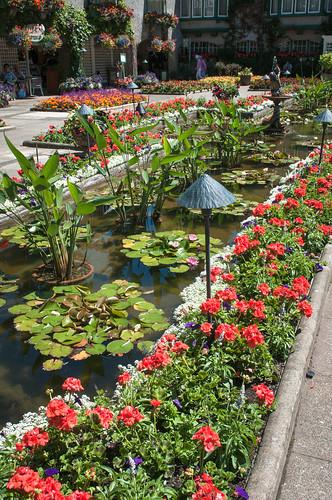 Butchart Gardens Map Vancouver Island