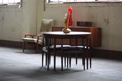 Hans Olsen Teak Roundette Dining Set For Frem Rojle Mobelfabrik ...