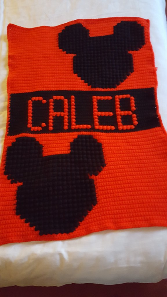 Mickey Mouse Blanket For Caleb Dochol Flickr