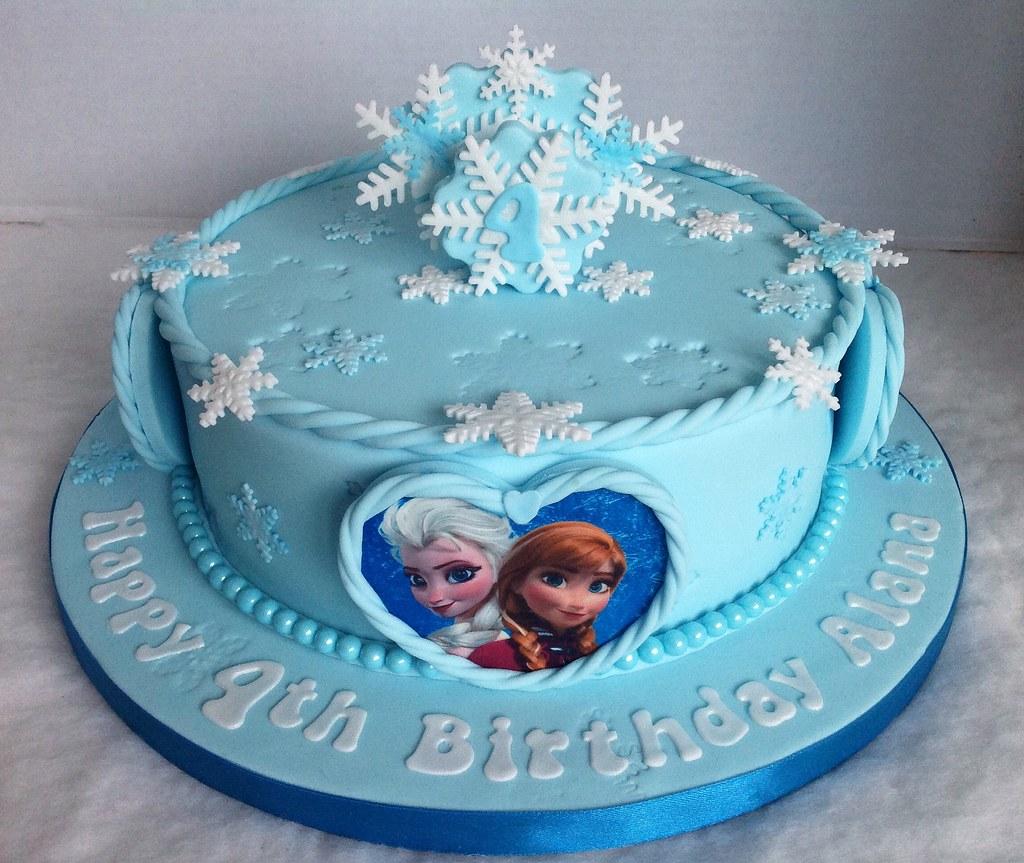 Frozen Birthday Cake Liz Flickr