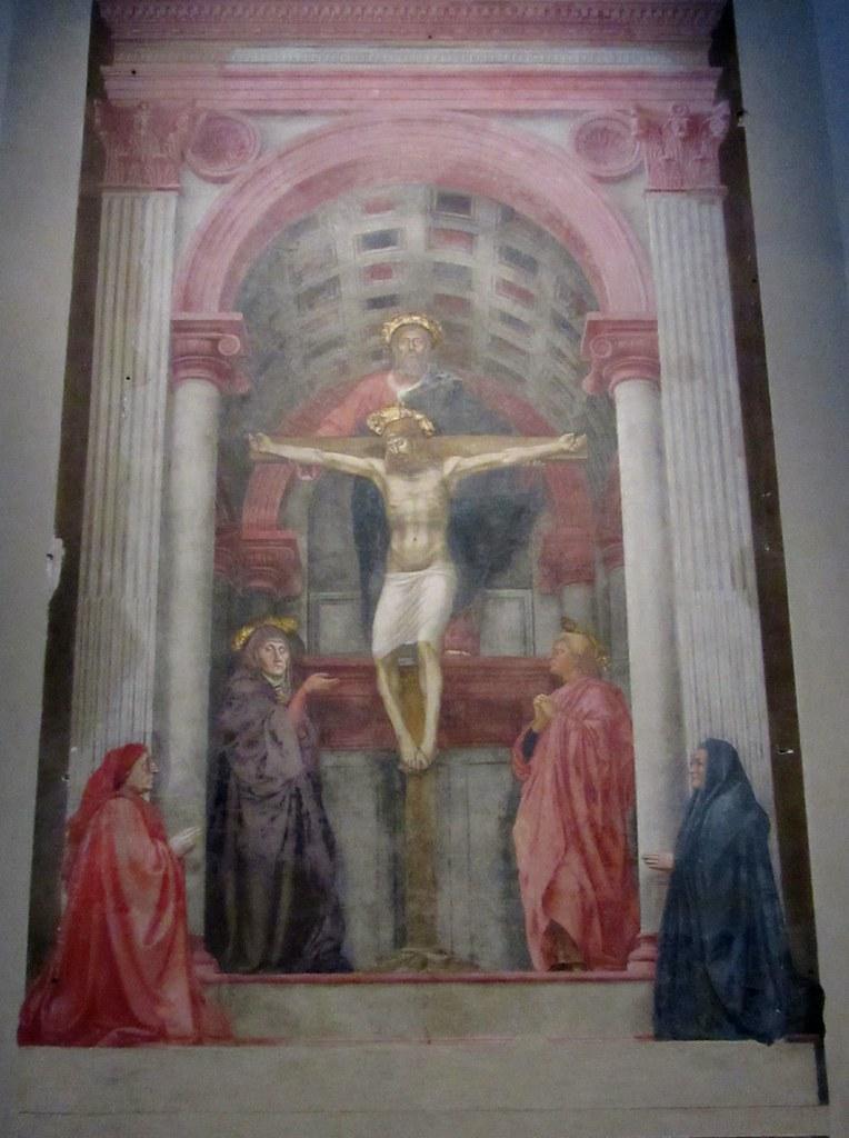 holy trinity santa maria novella