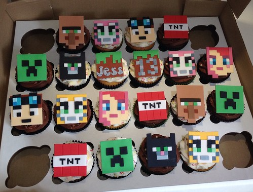Minecraft Stenciled Shirts This week I am going to feature a ton of Minecraft projects I did for my two middle boyz birthday party Today I am showing you the