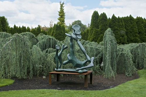 Hawthorne Tree Ii Isaac Witkin 1990 Grounds For Sculptu