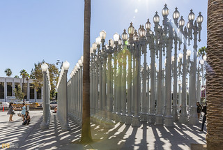 Urban Light Chris Burden LACMA Los Angeles 01 | by Eva Blue