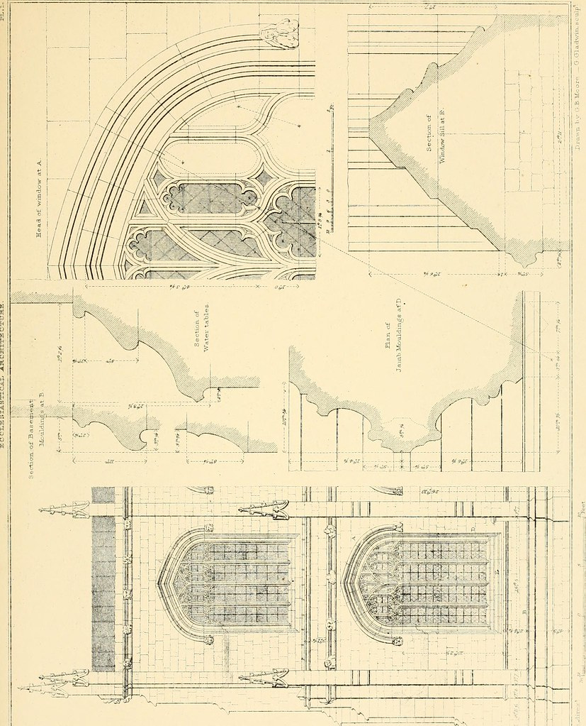 Image From Page 145 Of Examples Gothic Architecture Selected Various Ancient Edifices