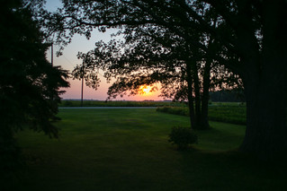 233-365 Sunset at my Grandpas | by Kelly__Webb