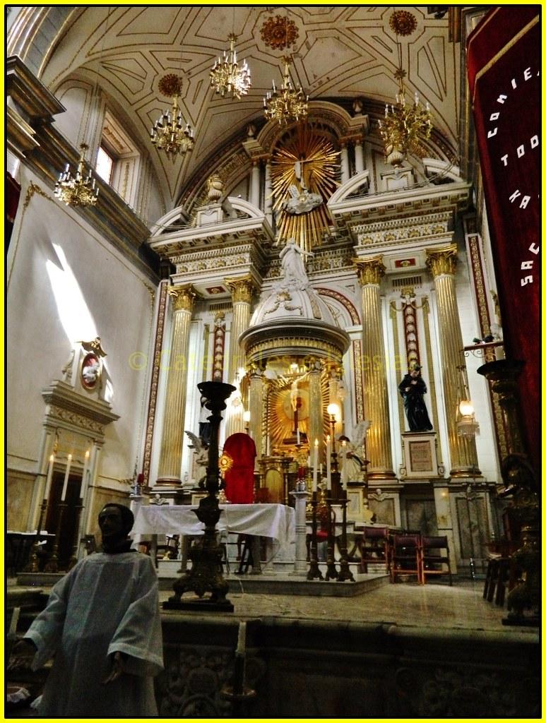 Interior del Templo de la Concordia