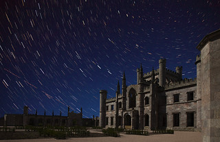 Star trails at Lowther Castle | by grelf.net