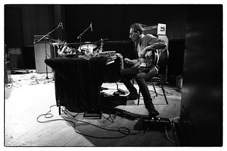 Oren Ambarchi & Johan Berthling - Dear Serge/Cafe Oto @ De La Warr Pavilion, Bexhill-on-sea, 14th September 2014 | by fabiolug