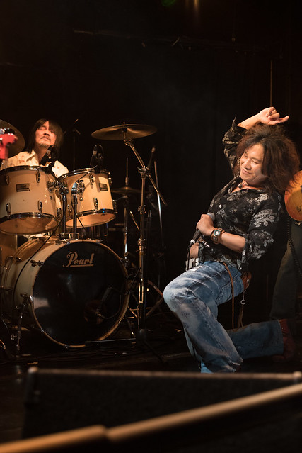 Molten Gold live at Club Mission's, Tokyo, 15 Oct 2016 -00175