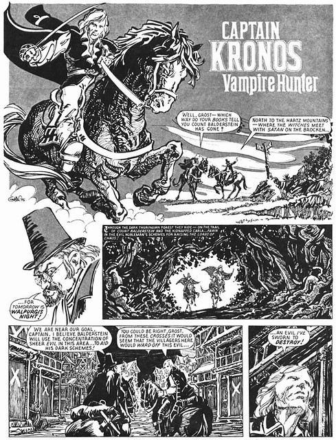 Captain Kronos - Vampire Hunter - Comics - 3