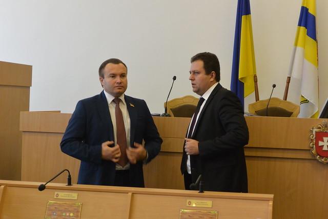Олександр Корнійчук та Віталій Ундір