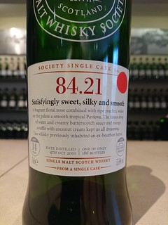 SMWS 84.21 - Satisfyingly sweet, silky and smooth