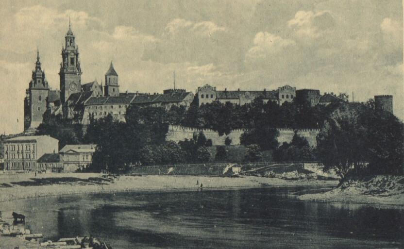 Castello Reale di Wawel a Cracovia in Polonia
