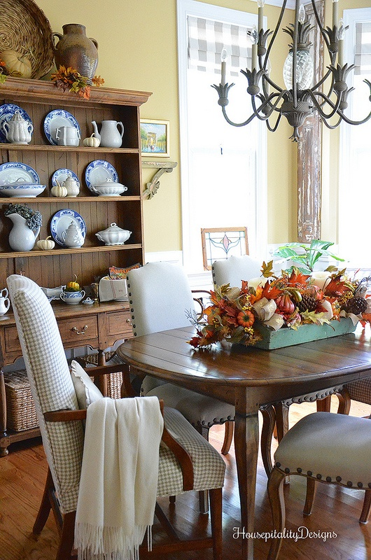 Fall Dining Room - Housepitality Designs