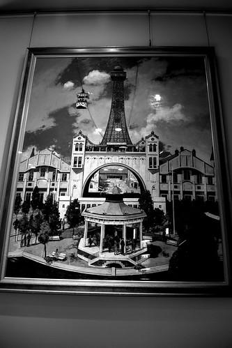 inside 'TSUTENKAKU' tower on DEC 01, 2016 (5)