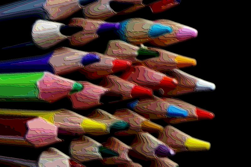 Project 366, Day 335: Coloured Pencils