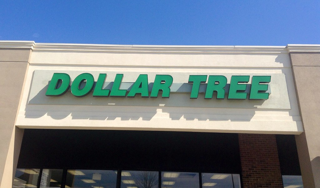 Dollar Tree Store Sign Logo Facade Pics By Mike Mozart Of TheToyChannel And JeepersMedia On YouTube