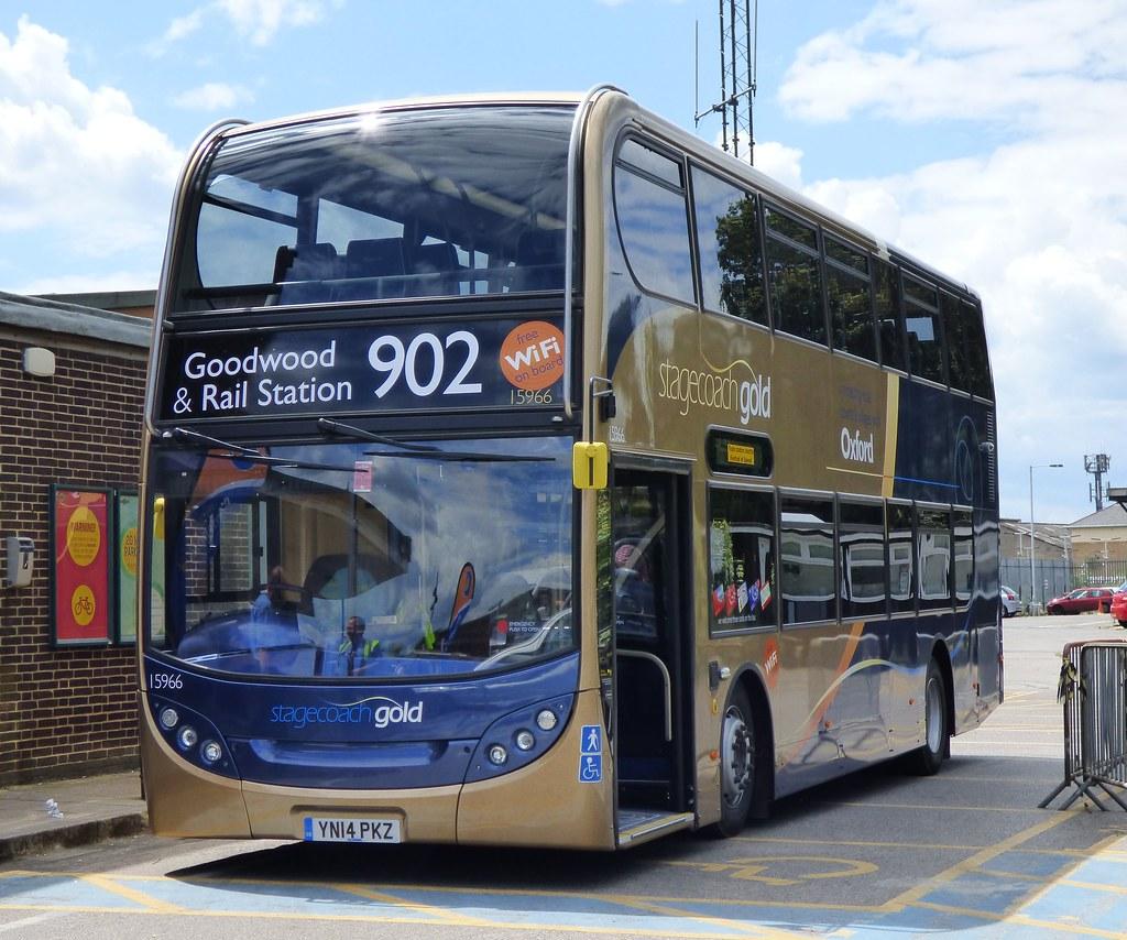 ... Stagecoach Oxford 15966 (YN14 PKZ) Chichester 29/6/14 | by jmupton2000