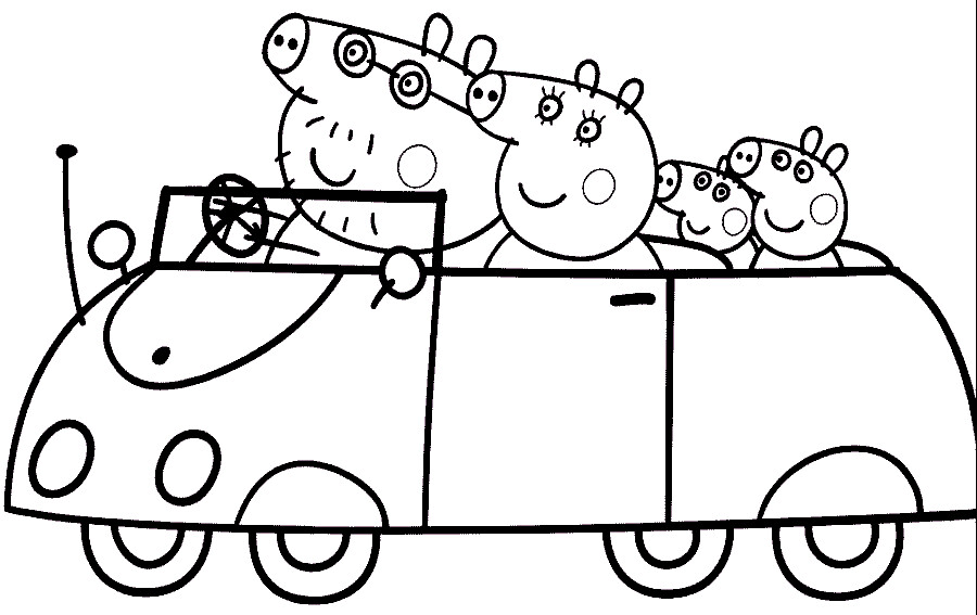 peppa-colorir- Desenhos do Peppa Pig para colorir pintar i… | Flickr