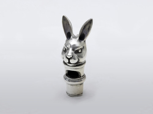 Silver RabbitWhistle | by 3DPrintus