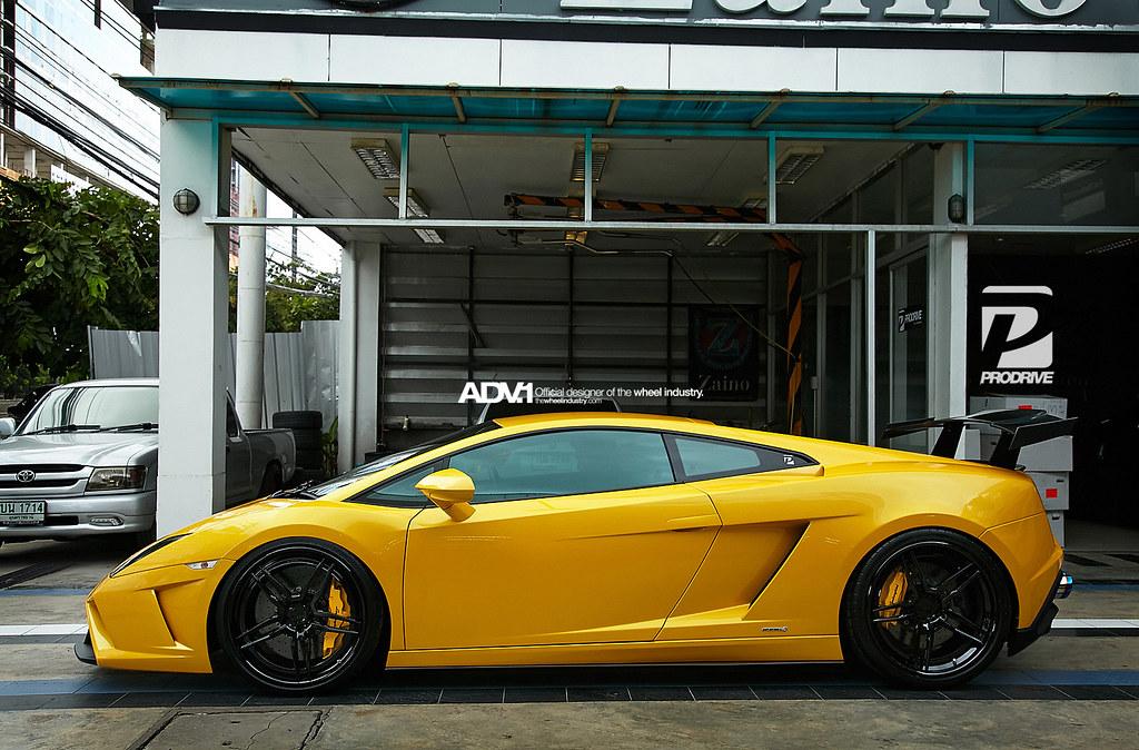 Lamborghini Gallardo Superleggera Adv05 Track Spec Cs Seri Flickr